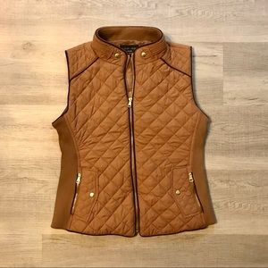 Love Tree Quilted Vest